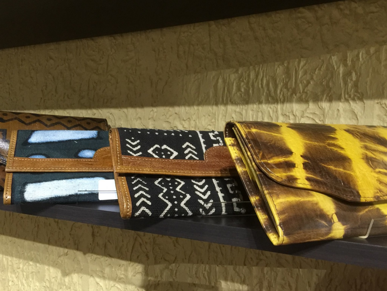 Pochette cuir - Made in Mali